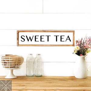 Sweet Tea Handmade Wood Sign