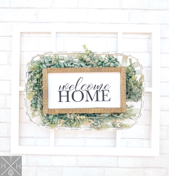 Handmade wood sign, home decor, gift, custom sign, home, home sign, living room decor, living room sign, entryway decor, entryway sign, welcome home, welcome home sign