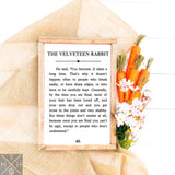 The Velveteen Rabbit Handmade Wood Sign