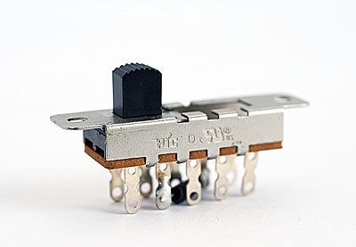 246-395-000 4 Position Switch 10 Pin With Jumper Pins at 2 & 9
