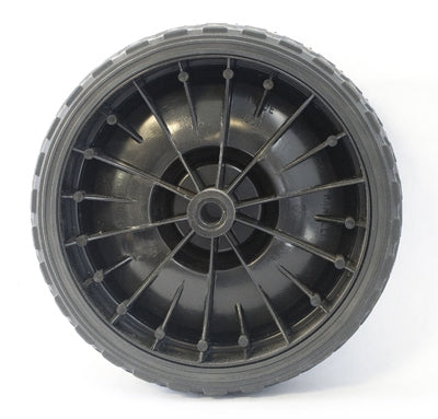 610553 - Associated 7'' Rubber Wheel { PAIR + HUBS }