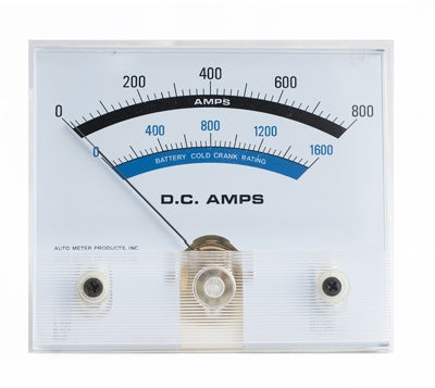 "AUTOMETER   A-3854-20xx-11 Meter 4-1/2"" Amp"