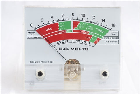 "Associated A_3854-21xx-11 Meter 4-1/2""Volt"
