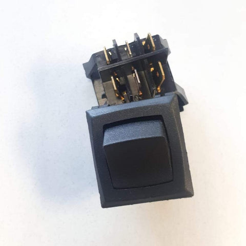 0499000053 Schumacher 2 Position (DPDT) On-On Rocker Switch