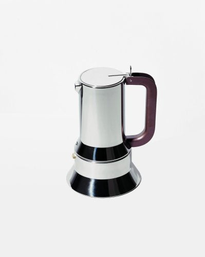 Alessi Espresso Coffee Maker with Magnetic Base, 3 Cups, (9090/3 FM)