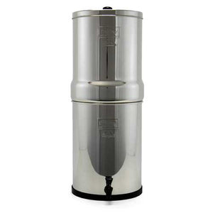 Complete Crown Berkey Water Filter With 2 Black and 2 PF2 Fluoride Filters, Purifier System