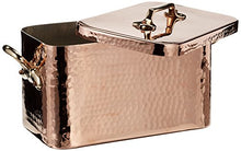 Load image into Gallery viewer, Mauviel M'Tradition Braiser and Lid 10 Litre Capacity Copper with 32 x 19 x 18 cm Tin Lining
