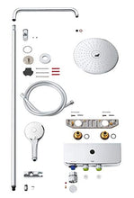 Load image into Gallery viewer, Grohe Euphoria Mono 26509000 SmartControl System 260 | Shower and Shower Systems Shower System with Thermostat for Wall Mounting – Chrome