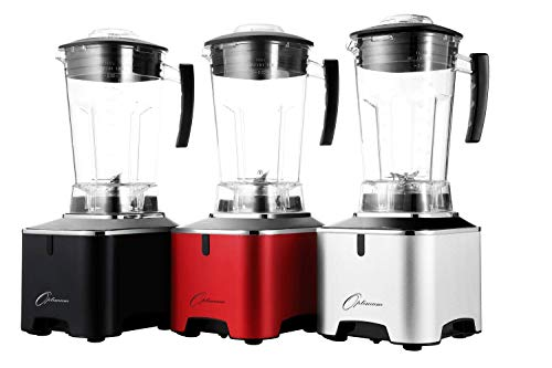 OPTIMUM G2.1 COMMERCIAL BLENDER | THE MOST POWERFUL BLENDER WITH 2611W, 6 PRESET FUNCTIONS, SLEEK METAL BASE DESIGN, (Silver)