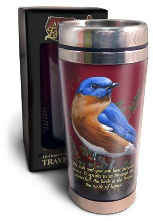 American Expedition 16oz. Stainless Steel Travel Mug (Eastern Bluebird)