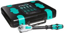 Load image into Gallery viewer, Wera 05003645001 8100 SC Zyklop Speed Ratchet Set - Silver (37-Piece)