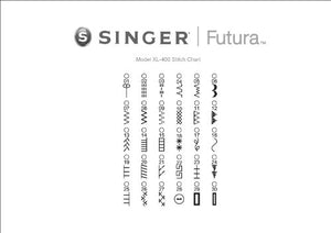 Singer Futura XL400 Sewing & Embroidery Machine - IMPORTED