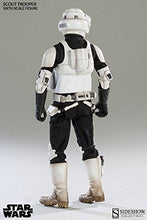 Load image into Gallery viewer, Sideshow Collectibles 1:6 Scale Scout Trooper Figure