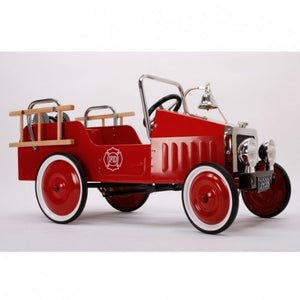 Metal Pedal Car 100 x 55cm Fire Truck