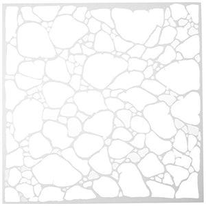 Crafters Workshop Plastic Template 12-inch x 12-inch Organic Matter