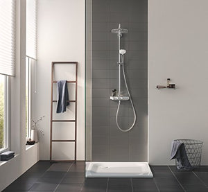 Grohe Euphoria Mono 26509000 SmartControl System 260 | Shower and Shower Systems Shower System with Thermostat for Wall Mounting – Chrome