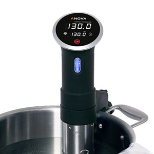 Anova Culinary A3.2-120V-US Precision Cooker-WiFi (900 Watts), Stainless Steel, Black