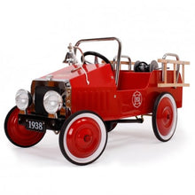 Load image into Gallery viewer, Metal Pedal Car 100 x 55cm Fire Truck