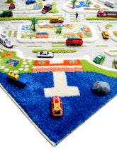 Load image into Gallery viewer, Eduk8 Worldwide Play Rug, 3D,Mini City Design, 134 x 180 Cms