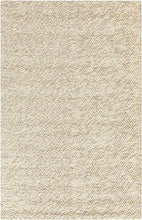 Load image into Gallery viewer, Diva At Home 5' x 8' Fiesta Splash Olive Green and Beige Hand Woven Felted Wool Area Throw Rug