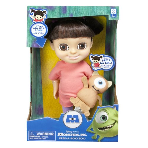 Disney Pixar Monsters, Inc. Peek-A-Boo BOO doll