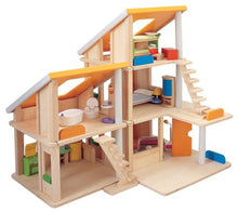 Load image into Gallery viewer, Plan Toys Classic Chalet Dollhouse With Furniture