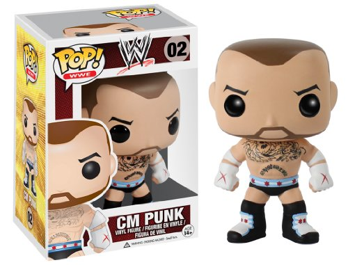 CM Punk (WWE) Funko Pop! Vinyl Figure