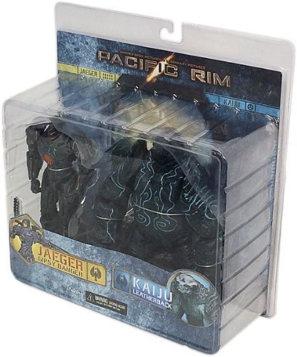 NECA 7-inch Pacific Rim Action Fig BD Gipsy vs Leatherback (Pack of 2)