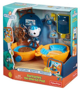 Fisher Price Toy - Octonauts Barnacles On the Go Pod Figure Playset