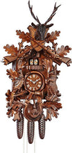 Load image into Gallery viewer, German Cuckoo Clock 8-day-movement Carved-Style 30.00 inch - Authentic black forest cuckoo clock by Anton Schneider