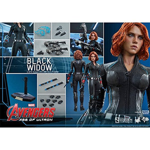 Disney Hot Toys 1:6 Scale Avengers Age of Ultron Black Widow Figure