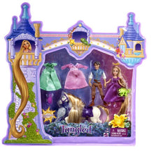 Load image into Gallery viewer, Disney Princess Tangled Rapunzel Deluxe Story Bag