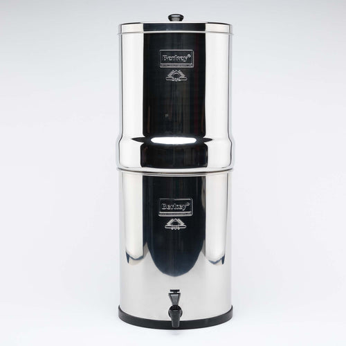 Imperial Berkey IMP6X2-BB Stainless Steel Water Filtration System with 2 Black Filter Elements