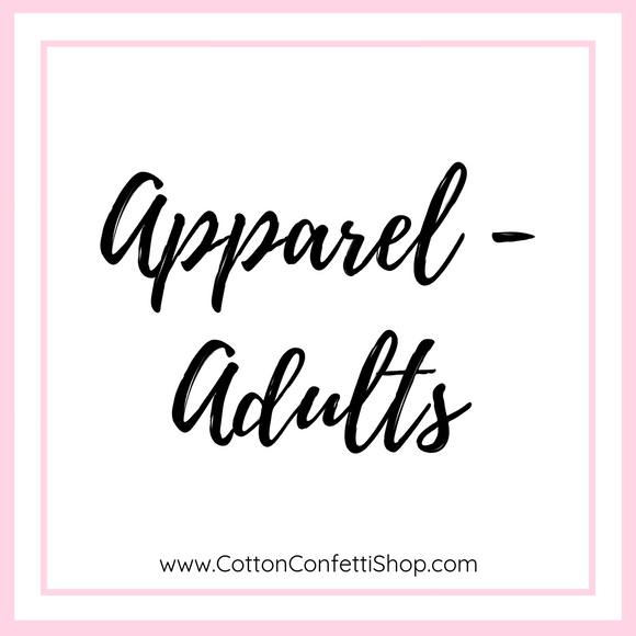 Apparel - Adults