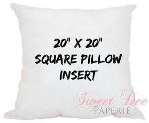 Pillow Inserts For Pillowcases
