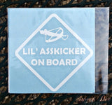 Walking Dead Lil' Asskicker On Board Vehicle Decal