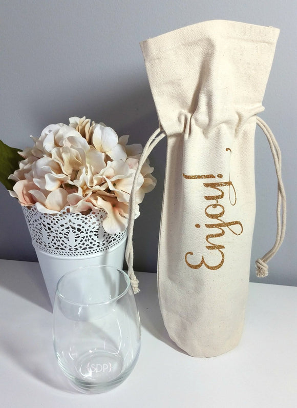 Enjoy Wine Bag