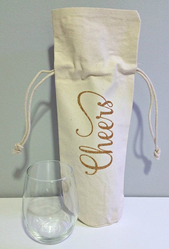 Cheers Wine Bag