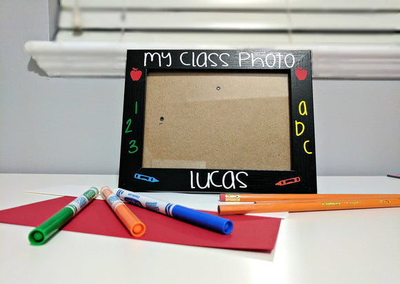 Personalized School Picture Frame