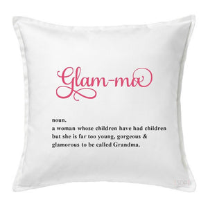 Glam-ma Grandma Pillow Cover