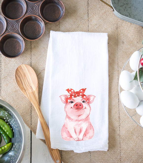 Pig Kitchen Dish Towel