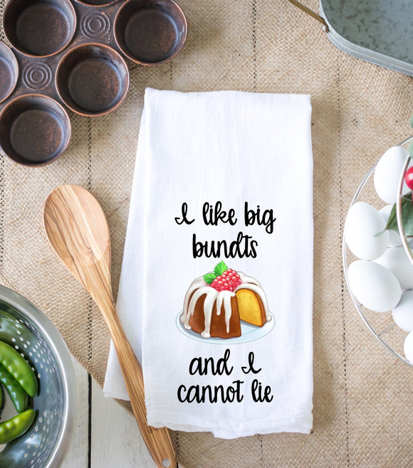 I Like Big Bundts Kitchen Dish Towel