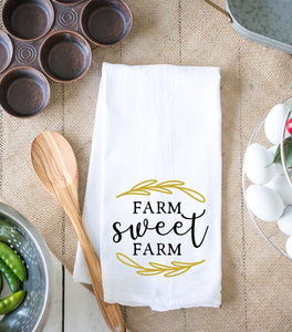 Farm Sweet Farm Kitchen Dish Towel