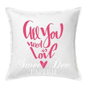 Lovey Dovey Pillow Cover