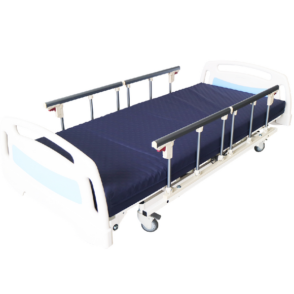 3 Crank Electrical Bed with ABS Panels and 4 Side Rails