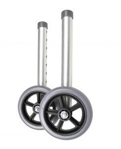 "5"" Wheels Attachment for Walking Frame (Pair)"