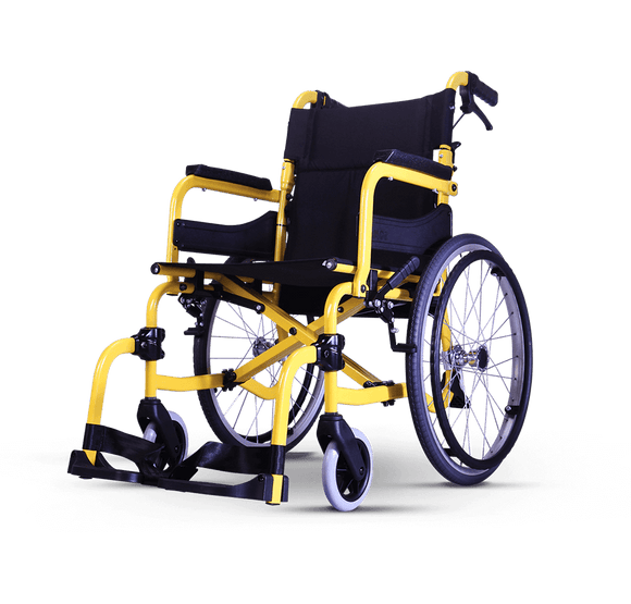"Joy 17"" Lightweight Wheelchair"