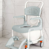 Etac Clean Mobile Shower Commode - Made in Sweden