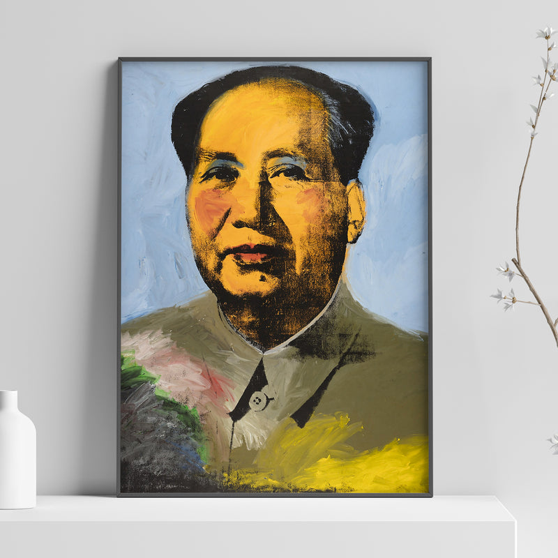 Andy Warhol - Mao Poster