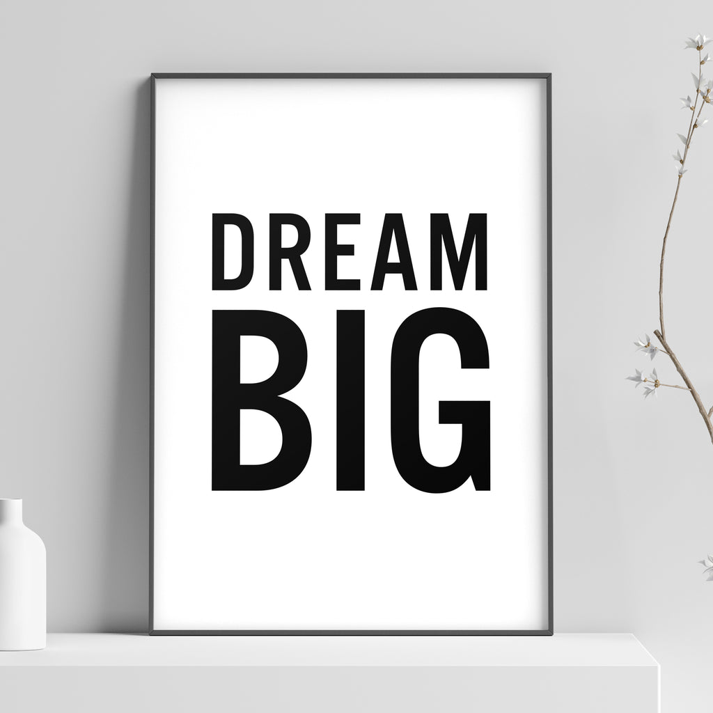 Dream Big (Big) Poster